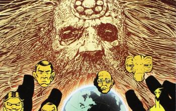 The Complete Alan Moore Future Shocks, humor nero in chiave fantascientifica
