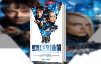 Valerian e la città dei mille pianeti arriva anche in libreria
