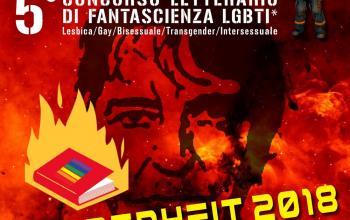 Fahrenheit 2018, concorso di fantascienza LGBTI