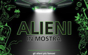Alieni di tutti i generi in mostra a Milano