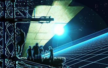Stormachine, la fantascienza geometrica di Franci Conforti