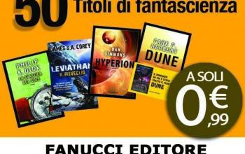 Fanucci, offerta lampo nel week-end, cinquanta ebook a 99 centesimi