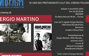 Fantascienza e horror: Sergio Martino ospite al Mufant
