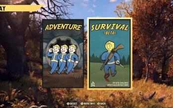 Fallout 76 si tinge di Survival
