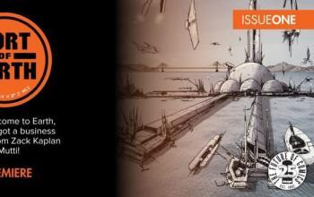 Port of Earth, il fumetto di Andrea Mutti diventerà una serie tv per Amazon Primevideo