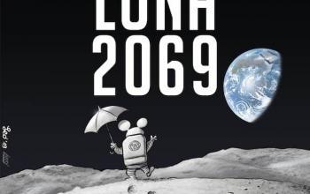 Leo Ortolani torna nello spazio con Luna 2069