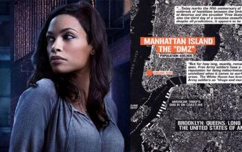 DMZ, il fumetto distopico diventa una serie tv con Rosario Dawson