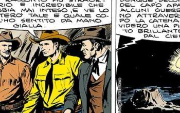 Tex Willer, tra Jurassic Park e  H.P. Lovecraft