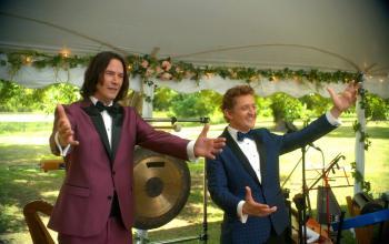 Tornano Bill & Ted, Keanu Reeves salva il mondo a tempo di musica