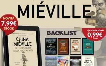 China Miéville, nuovo romanzo e nuova offerta
