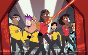 Star Trek: Lower Decks, arriva il primo, folle trailer