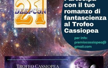 Rinviata la scadenza del Trofeo Cassiopea per romanzi di fantascienza