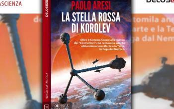 Torna Paolo Aresi: ecco La stella rossa di Korolev