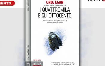 I quattromila e gli ottocento, un nuovo romanzo breve di Greg Egan in Odissea Argento