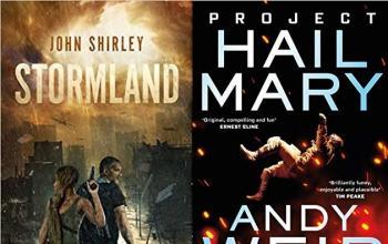 I nuovi romanzi di Andy Weir e John Shirley