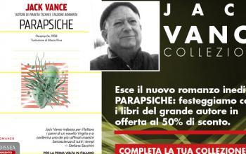 Jack Vance, per una settimana otto libri in offerta
