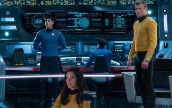 Star Trek: Strange New Worlds, Anson Mount annuncia la fine delle riprese