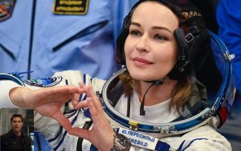 I russi battono Tom Cruise con il primo film girato nello spazio