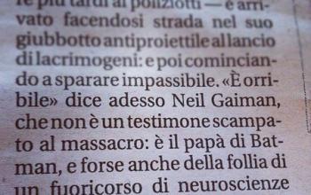 Batman: lo strafalcione di Repubblica e le scuse a Neil Gaiman