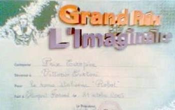 Robot vince il Grand Prix de l'Imaginaire