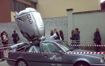 Incidente astronautico a Milano