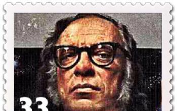 Un francobollo per Isaac Asimov