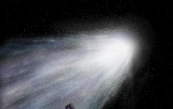 Nella coda della cometa