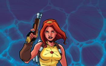 Ecco Amber Atoms, un Flash Gordon al femminile