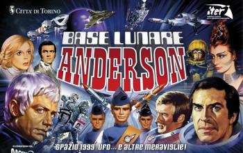 Base Lunare Anderson, Spazio 1999 e UFO in mostra a Torino