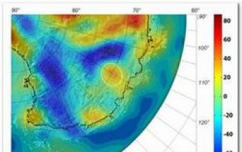 Scoperto il cratere più grande del mondo