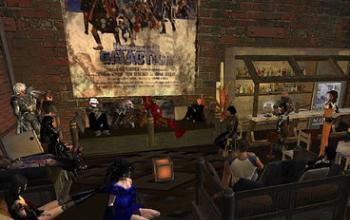 Serata Cyberpunk su Second Life