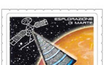 Francobolli su Marte