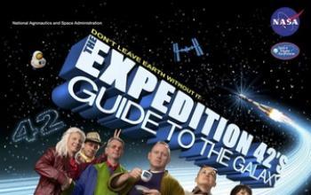 Nasa, spedizione 42. E poster promozionale tutto da vedere
