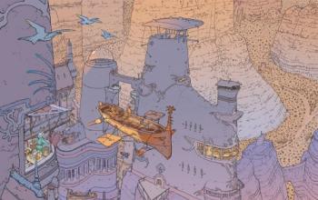 Moebius: l'arte della fantascienza a fumetti