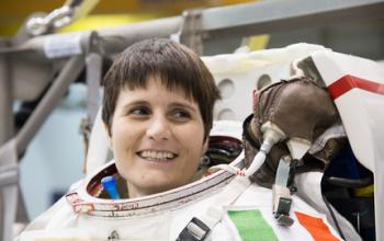 Samantha Cristoforetti è in orbita