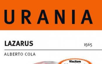 Lazarus, in edicola il vincitore del Premio Urania