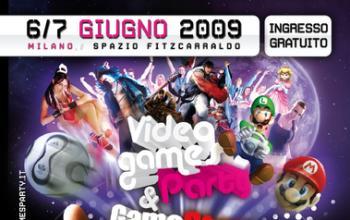 Videogames Party a Milano il 6 e 7 giugno