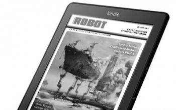 Robot, ora anche per Kindle