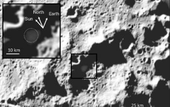 Ebbene sì, c'è acqua sulla Luna