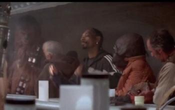 La cantina di Star Wars versione pubblicitaria