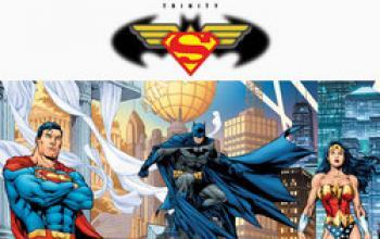 La Trinità formato DC Comics