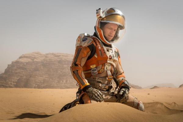 Matt Damon in Sopravvissuto (The Martian)