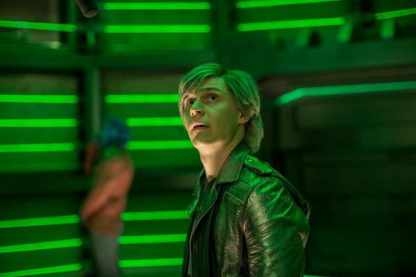 Evan Peters è Quicksilver in X-Men: Apocalisse