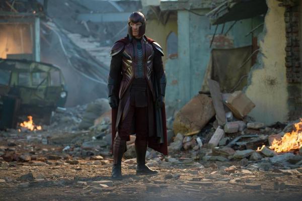 Michael Fassebender è Magneto