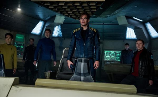 Il cast di Star Trek Beyond
