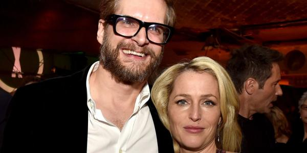 Bryan Fuller e Gillian Anderson