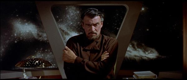 Walter Pidgeon è il Dr. Morbius