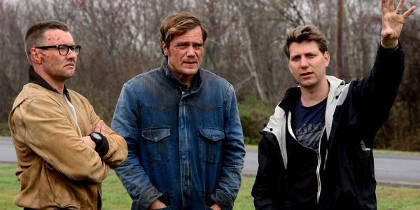 Nichols, Michael Shannon e Joel Edgerton sul set di Midnight special.
