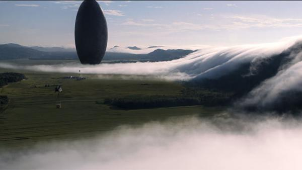 "Una scena di ""Arrival"""