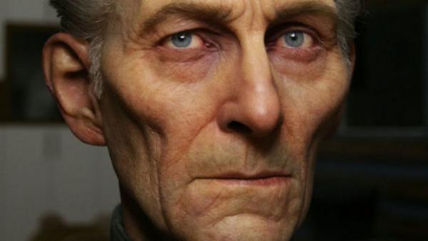 Peter Cushing ricreato in CGI